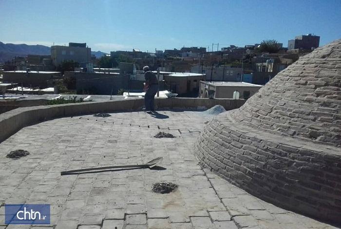 مرمت بنای باغ مزار گرمه در خراسان شمالی شروع شد