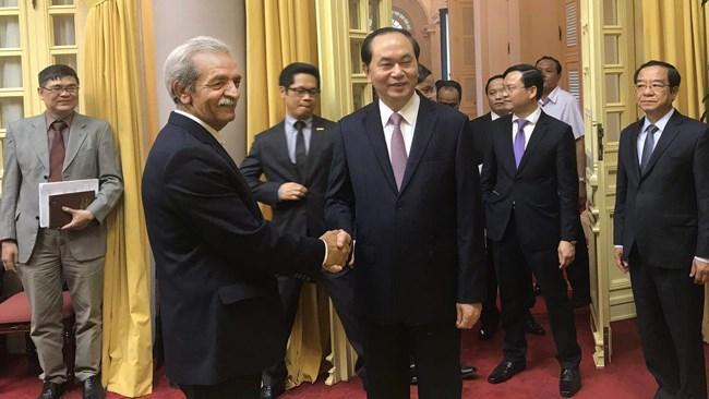 ویتنام در سیاست نگاه به شرق ایران صندلی ویژه ای دارد