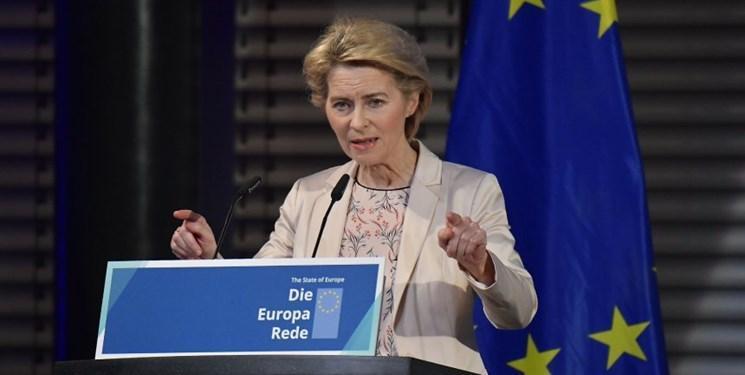 فون در لاین: اتحادیه اروپا باید زبان قدرت را یاد بگیرد