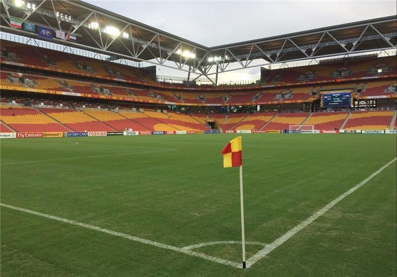 تساوی استرالیا و چین در نیمه اول