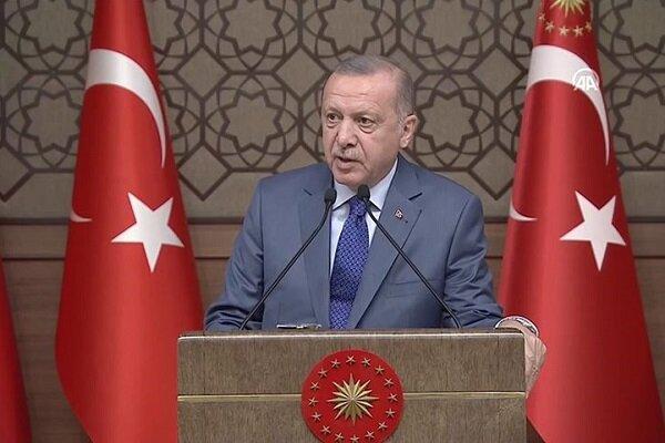 تحلیل اردوغان از دلیل ادامه اعتراضات عراق