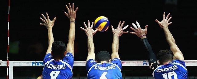 پیروزی امیدهای والیبال ایران برابر استرالیا