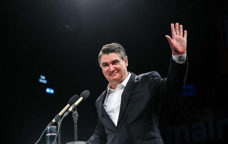 پیروزی میلانوویچ در انتخابات ریاست جمهوری کرواسی