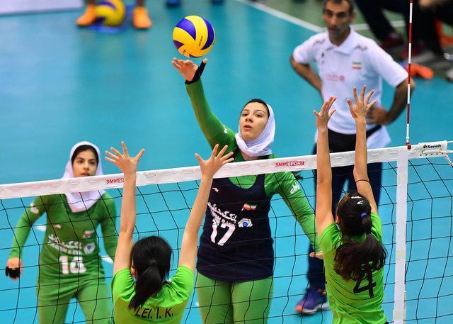 پیروزی دختران والیبالست ایران، صعود به جمع هشت تیم برتر آسیا