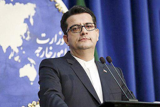 واکنش سخنگوی وزارت خارجه به فضاسازی های مشکوک درباره سقوط هواپیمای اوکراینی ، درخواست از نخست وزیر کانادا