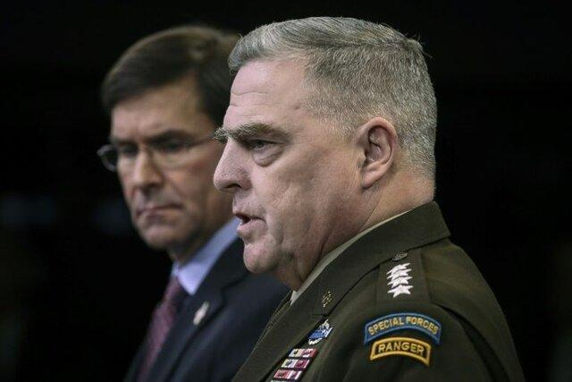رئیس ستاد مشترک ارتش آمریکا: برای هر چیزی از سوی کره شمالی آماده ایم