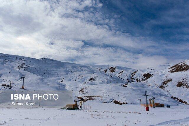 پیش بینی بارش برف و باران در البرز