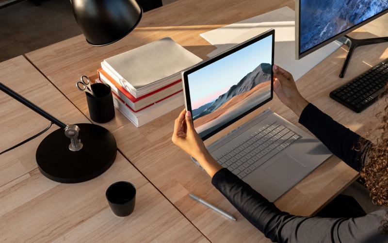مایکروسافت لپ تاپ خواستنی و توانمند سرفیس بوک 3 را رونمایی کرد