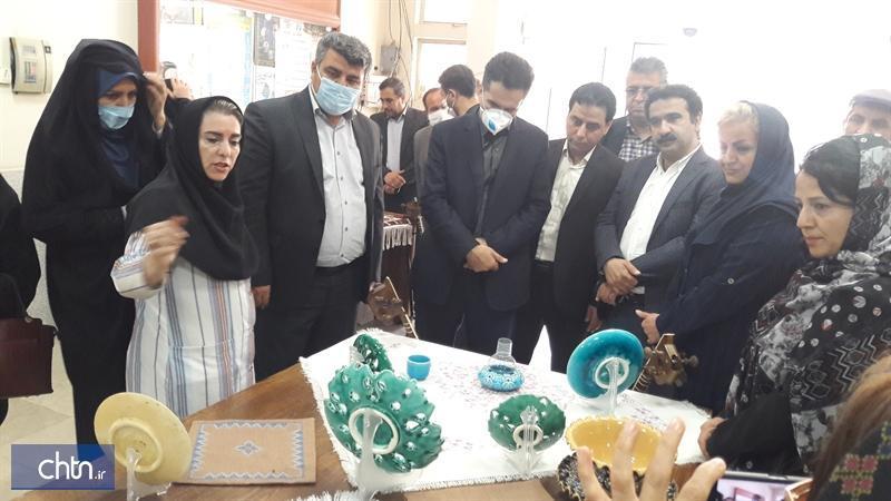 نمایشگاه یک روزه صنایع دستی نظرآباد برگزار گشت