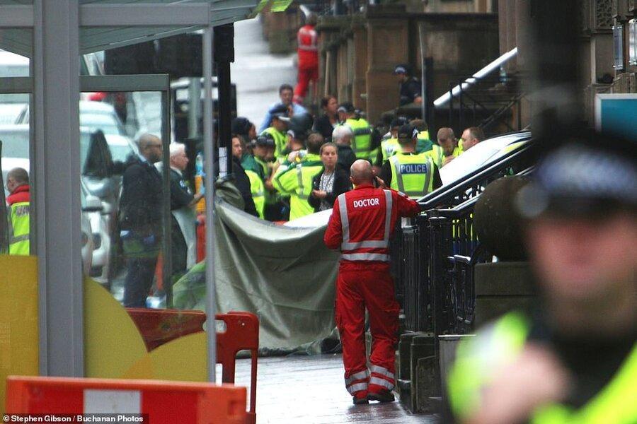 مرد چاقو به دست در گلاسکوی اسکاتلند سه نفر را کشت