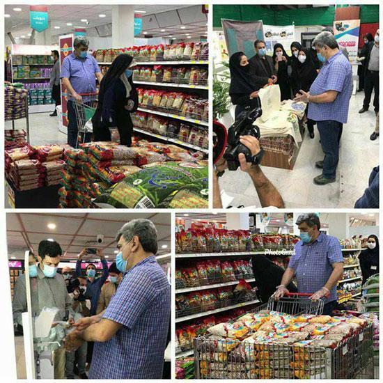 ماجرای عکس خبرسازِ شهردار تهران در فروشگاه