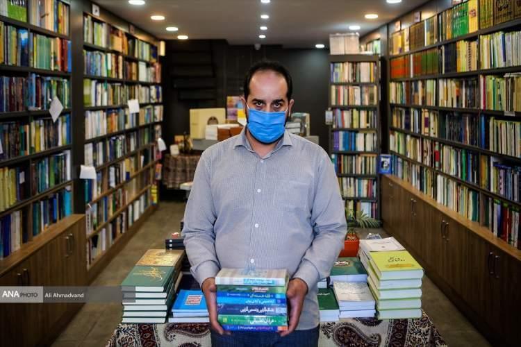 وقتی کتاب فروش از چپ و راست می خورد، یکی کرونا می زند یکی گرانی و کاهش قدرت خرید