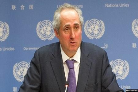 واکنش سخنگوی سازمان ملل به تعرض جنگنده های آمریکایی به هواپیمای مسافربری ایران