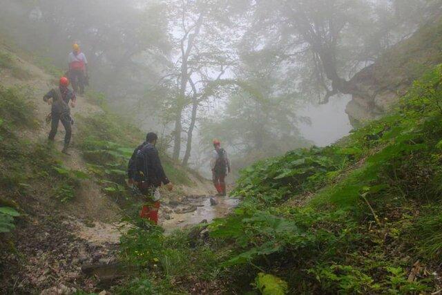 پیدا شدن 9 گردشگر گمشده در جنگل بندرگز