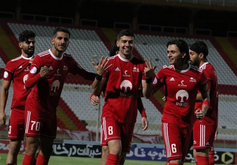 جام حذفی فوتبال، صعود تراکتورِ 10 نفره به فینال پس از 3 سال، یک تیر و 2 نشان شاگردان الهامی