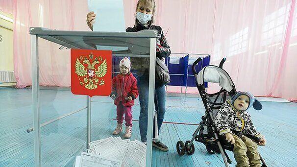 شروع رای گیری انتخابات محلی در روسیه