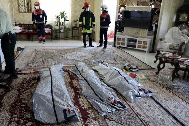 مرگ مشکوک اعضای یک خانواده در مشهد در دست آنالیز است