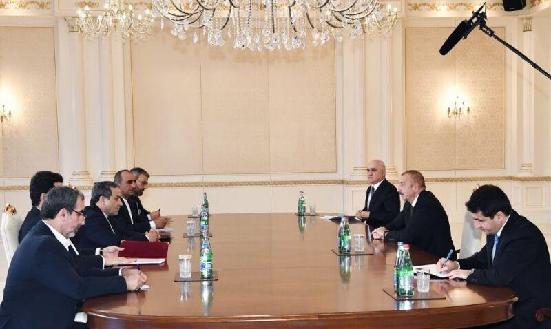 ملاقات عراقچی با رییس جمهوری آذربایجان