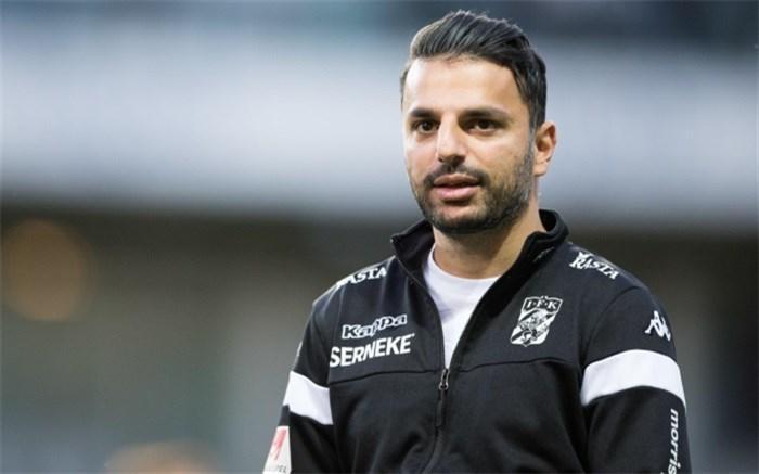 یک مربی ایرانی سرمربی تیم ملی فوتبال سوئد شد
