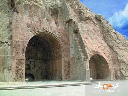 قلعه هزار درب از آثار باستانی استان ایلام