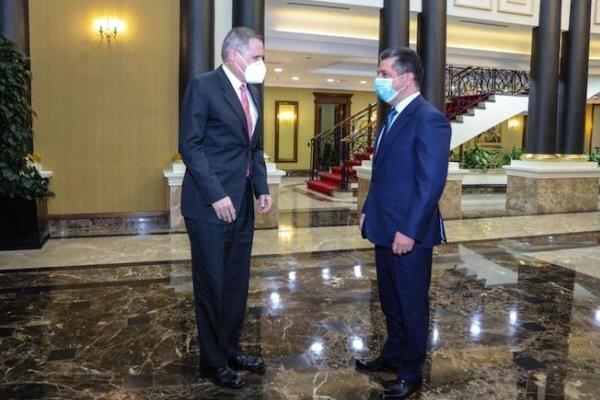 بارزانی: آماده همکاری همه جانبه با دولت جدید واشنگتن هستیم