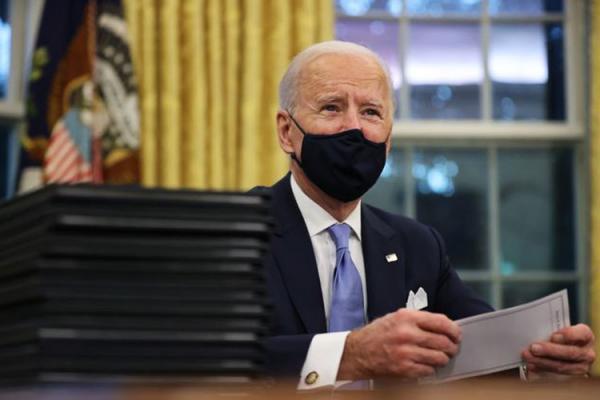 نامه بایدن به کنگره درباره حملات به شرق سوریه