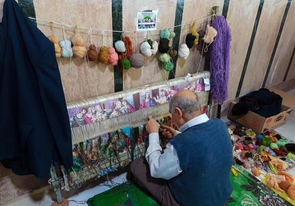 هنر قالی بافی؛ آشنایی با تاریخچه و روش بافت قالی