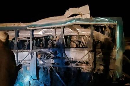 انفجار یک اتوبوس در زابل؛ 11 تن جان باختند