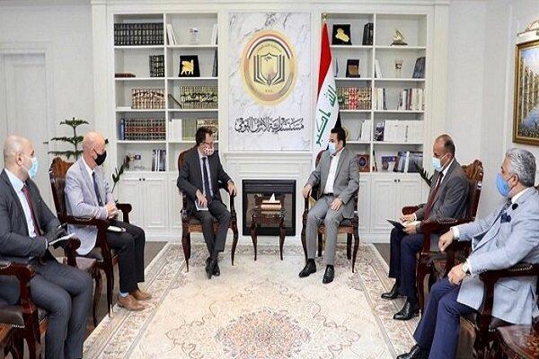 رایزنی مشاور امنیت ملی عراق با سفیر کانادا در بغداد