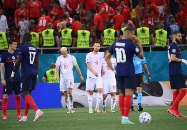 یورو 2020، فرانسه قدر بازگشتش را ندانست، سوئیس بازی را به وقت های اضافه برد