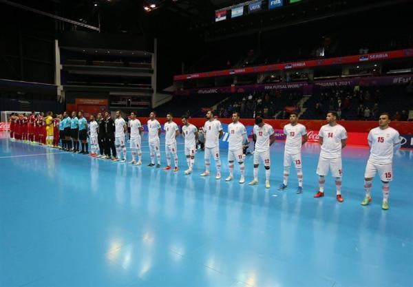 تمجید فیفا از آغاز مقتدرانه تیم ملی فوتسال در جام جهانی لیتوانی